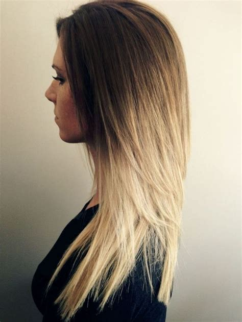 hairstyles for school thick hair long hair trend cute ombre hair color hair pinterest