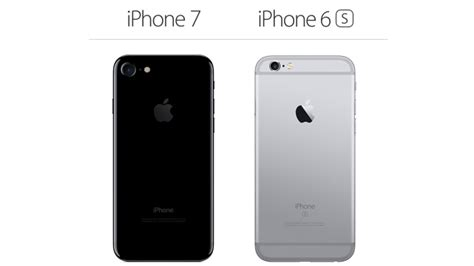 iphone 7 vs iphone 6s what s the difference