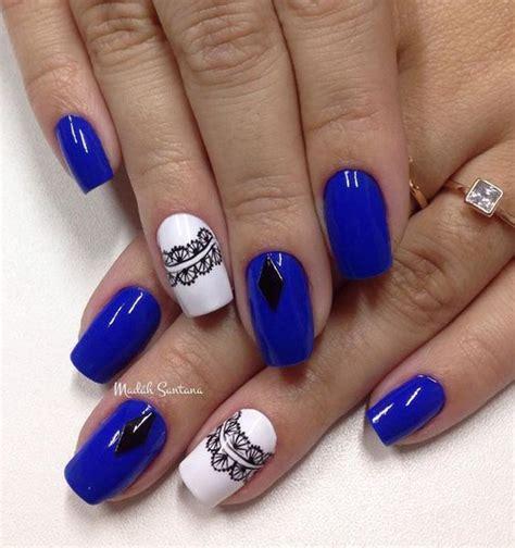 Imagenes De Uñas Acrilicas Azul Rey | u 241 as acrilicas azul rey