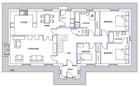 blueprint house plans house plans and design sle architectural designs of