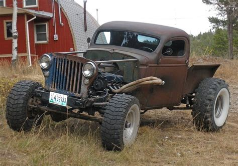 14 best images about 4x4 rat rods on