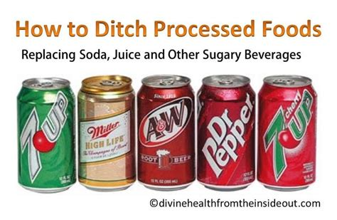 How To Detox From Processed Foods by 17 Best Images About No More Soda Ideas To Quit No To