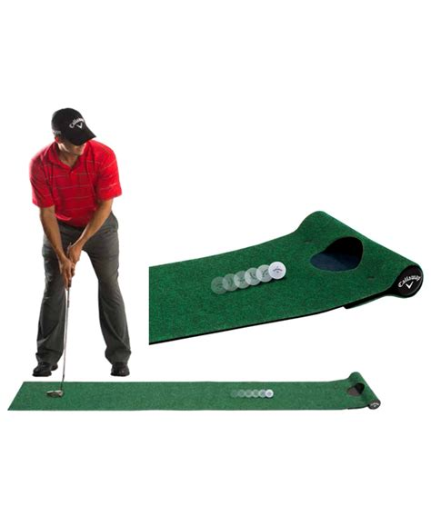 Callaway Putting Mat by Callaway Putting Mat Gift Set Tnt Golf