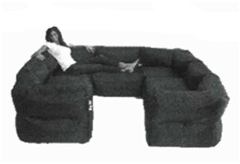 big joe 7 piece zip modular sectional by comfort research