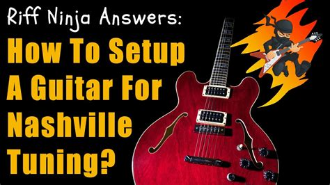 Tuner Nashville by Tuning Your Guitar To Open G Major Great For Slides