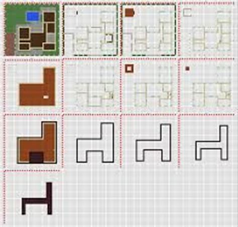 minecraft modern house blueprints layer  layer ideas