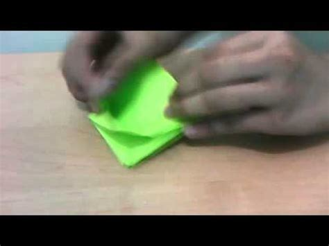 How To Make A Origami Creeper - minecraft creeper origami tutorial