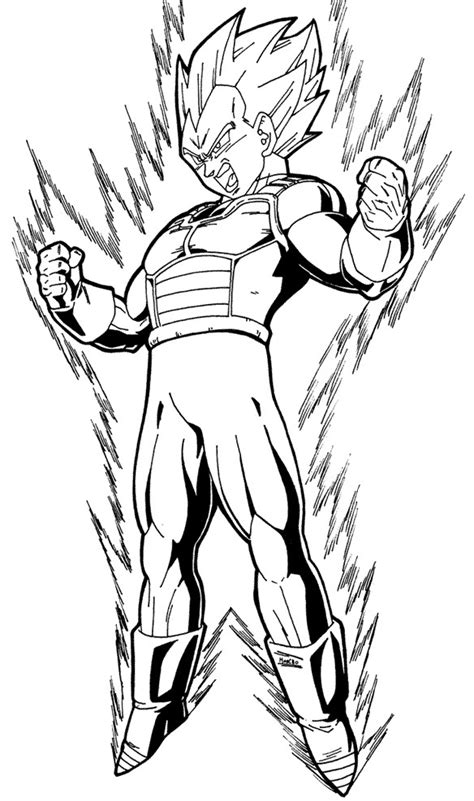 dragon ball z vegeta coloring pages free coloring pages of goku super k