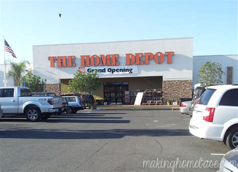 grand re opening of the home depot