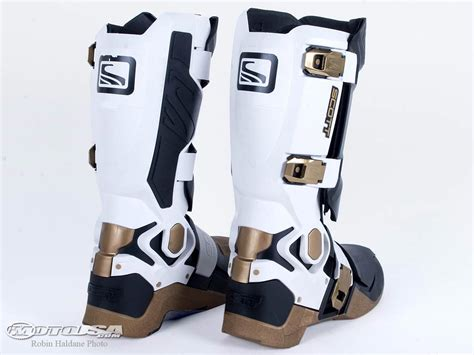 hinged motocross boots genius boot review motorcycle usa