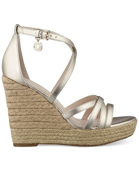 Hilfiger Wedges by Hilfiger S Venitia Platform Wedge Sandals In