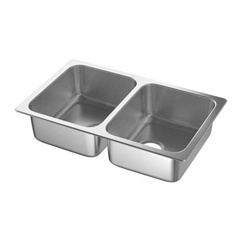 ikea double sink hillesj 214 n double bowl dual mount sink ikea