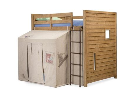 Fort Bunk Bed Plans Surf Club Distressed Oak Loft Bunk Bed Bunk Beds With A Built In Fort Bedroom Ideas