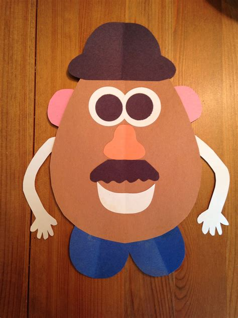 disney inspired crafts and activities for kids family mr potato head craft toy story 3 movie night disney