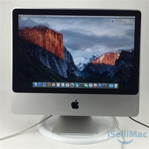 Imac 2008 2 Duo Vga Radeon Ram 3gb Hdd 250gb apple 2008 20 quot imac 2 66ghz c2d 320gb 2gb mb324ll a b grade ebay