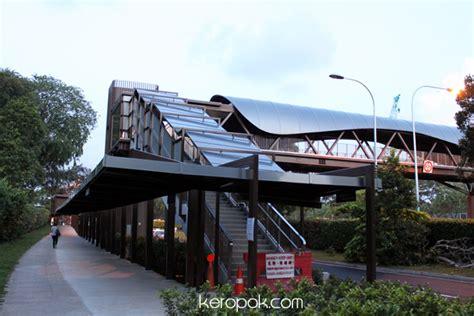 Botanic Garden Mrt Boring Singapore City Photo Botanic Garden Wavy Design Overhead Bridge