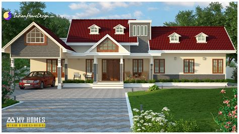 traditional kerala home design with modern style in 2344 sqft