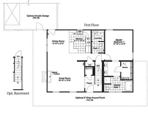 blue ridge floor plan blue ridge mt 1064 square foot cape floor plan