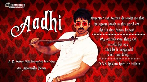 actor aadhi movie list tamil aadhi aadhi maruti