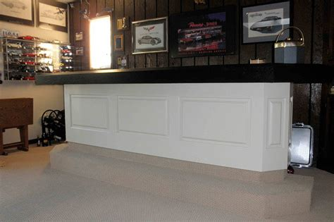 Wainscoting Bar custom raised panel pictures