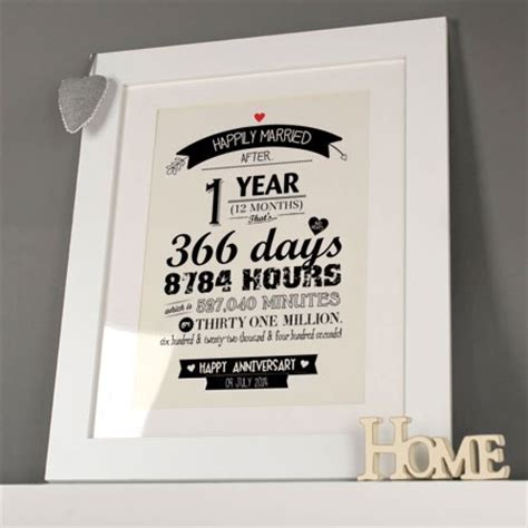 unique paper anniversary gifts st gettingpersonalcouk