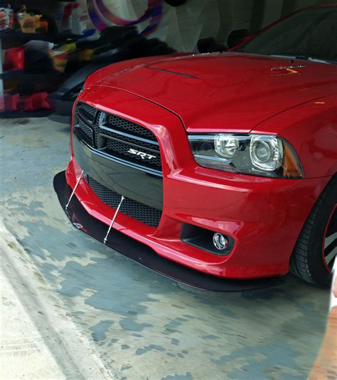 2013 dodge charger front lip apr dodge charger srt8 front bumper splitter 2011 2014 cw