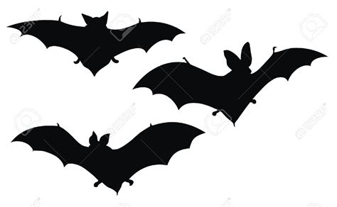 Bat Outline Vector by Bat Silhouette Clipart Clipground