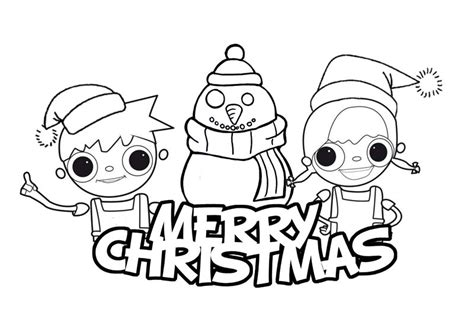 Merry Christmas Coloring Pages Coloring Pages For Merry