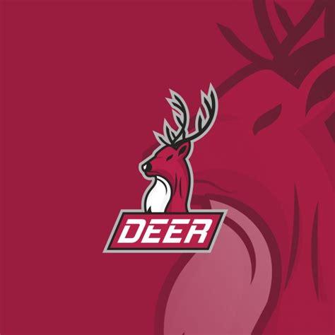 logo deer deer logo vector free