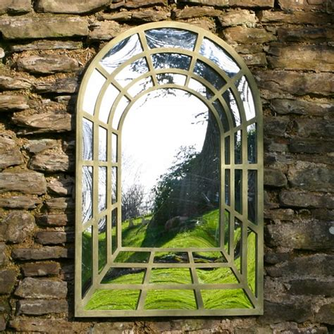Large Perspective Garden Mirror Outdoor Mirrors Garden Wall Mirrors