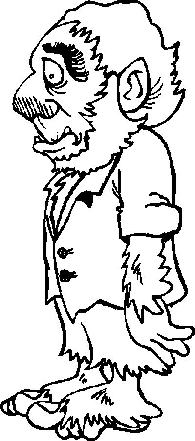 halloween coloring pages werewolf halloween werewolf coloring pages grig3 org