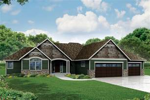 Craftsman Ranch Plan 72800da Craftsman Ranch Home Plan With 3 Beds