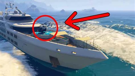 big boat in gta 5 gta 5 online drive the super yacht secret cars more