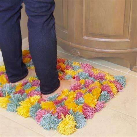diy yarn rug 17 best ideas about pom pom rug on pom pon pom pom diy and diy rugs