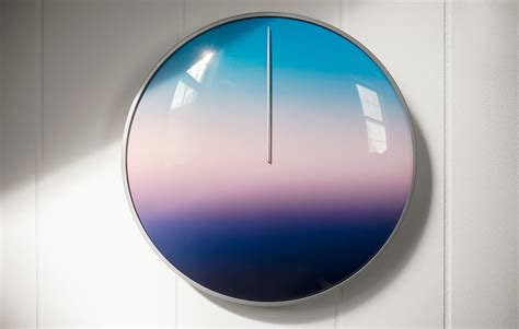 design milk clock clock to change the way you see your day design milk