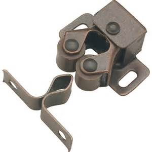 shop hickory hardware bronze cabinet catch at lowes com