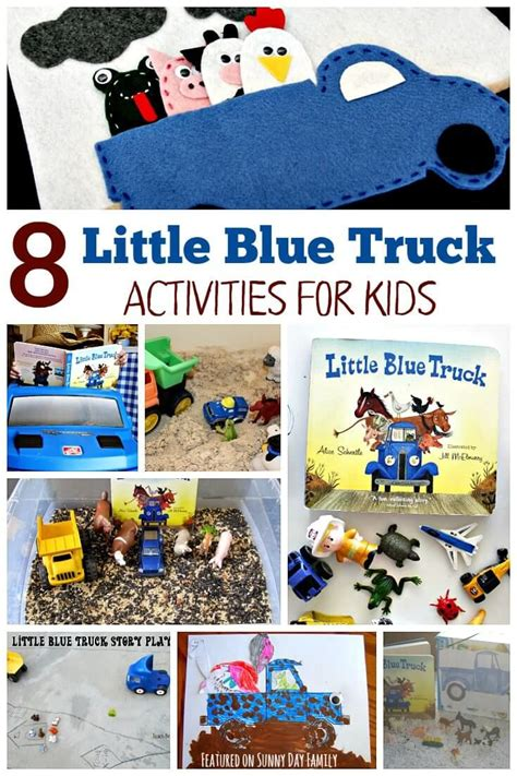 fun learning activities for 1845908929 8 little blue truck activities for preschoolers sensory play storytelling and activities