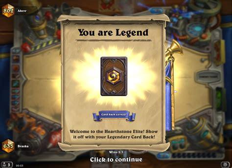 hearthstone legend deck reynad s high legend mech roar hearthstone decks
