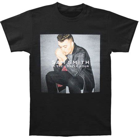 Tshirt Sam Smith 02 Qshi Store sam smith s lonely hour 2015 tour slim fit t shirt