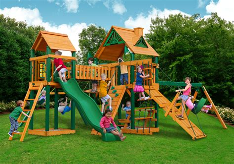 gorilla swing set clearance cedar swing set playset clearance sale