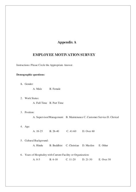 factors affecting employee s motivation in