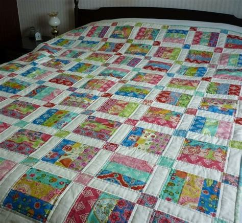 Jelly Roll Patchwork Patterns - jelly roll quilt