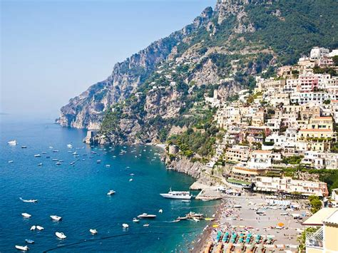 amalfi coast   towns  sea travel ideas