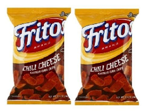 Corn Chips Cheese Crunchy fritos chili cheese corn chips 2 pack frito lay crunchy