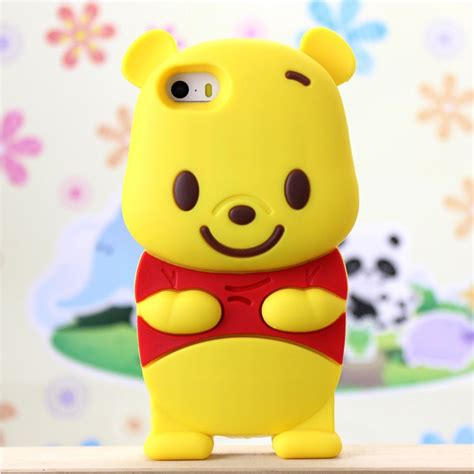 Casing Iphone 55s Winnie The Pooh 1 winnie the pooh tpu for iphone 5 5s yellow