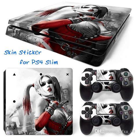 ps4 themes harley quinn harley quinn ps4 slim vinyl skin sticker console skin