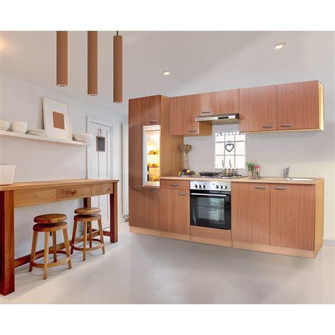 Respekta Küchenzeile ohne E Geräte und Arbeitsplatte