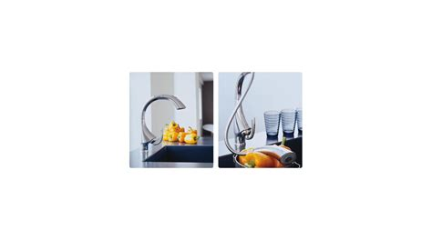 Grohe K4 Kitchen Faucet faucet com 32071sd0 in stainless steel by grohe