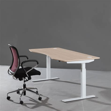 Standing Sitting Adjustable Desk The Revisionist Adjustable Desks For Standing Or Sitting