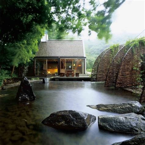 Small Homes On The Water 67 Cool Backyard Pond Design Ideas Digsdigs